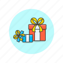 achievement, award, birthday, celebration, gift, present, prize, reward icon