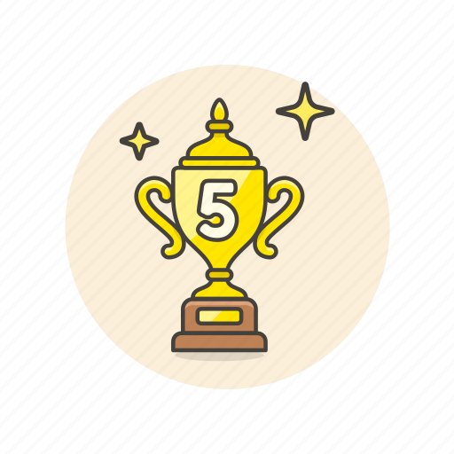 achievement, award, cup, prize, rank, reward, top icon