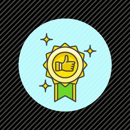 achievement, award, badge, prize, reward, success, winner icon