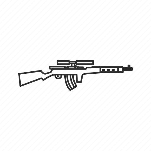 army, fedorov avtomat m1916, guns, military, projectile, rifle, war icon