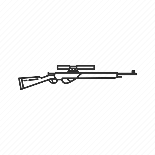Army, fusil automatique modele, guns, long range, military, sniper, war icon - Download on Iconfinder