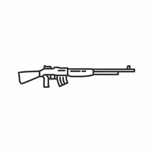Army, carl gustav, gun, machinegun, military, projectile, weapon icon - Download on Iconfinder
