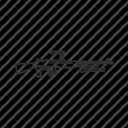 army, carl gustav, gun, machine gun, rifle, weapon, world war icon