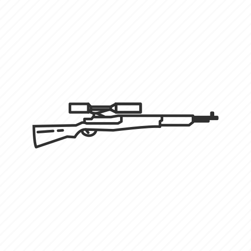 Army, guns, m1 garand, military, rifle, sniper, war icon - Download on Iconfinder