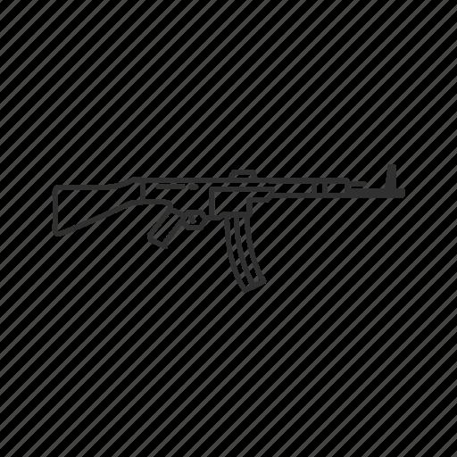 Army, guns, military, rifle, sturmgewehr 45, war, weapons icon - Download on Iconfinder