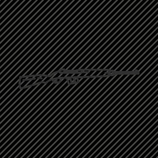 Army, guns, military, rifle, sniper, walther gewehr 43, war icon - Download on Iconfinder