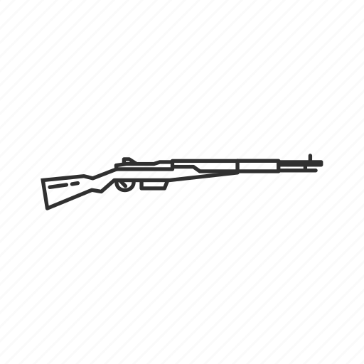 Arisaka type 4, army, guns, military, rifle, sniper, weapons icon - Download on Iconfinder