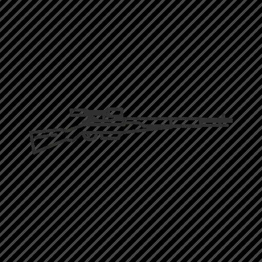 arisaka type 4, army, guns, military, rifle, sniper, weapons icon