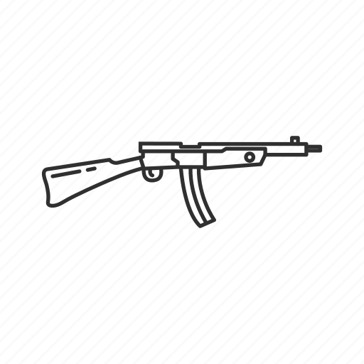 Army, guns, gustoloff volkssturmgewehr, military, projectile, rifle, war icon - Download on Iconfinder