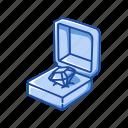 accessory, chest, diamond, diamond ring, fashion, jewelry, jewelry box