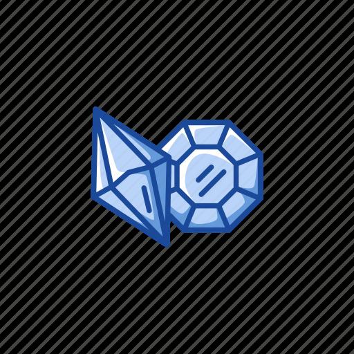 accessory, diamond, gem, jewelry, pendant, stone icon