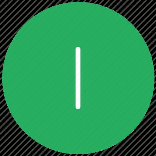 green, i, key, keyboard, letter icon