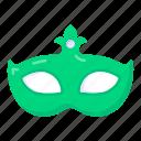 party mask, masquerade mask, eye prop, carnival mask, festive mask icon