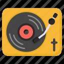 vinyl disc, vinyl player, vintage player, recorder player, retro music player