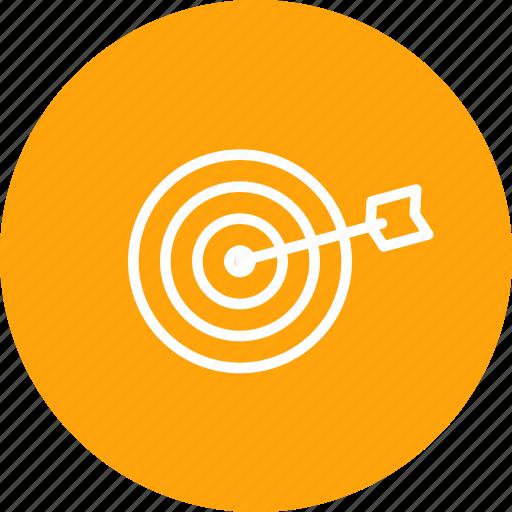 aim, archery, arrow, game, olympic, sports, target icon