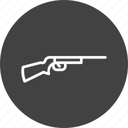 game, gun, olympic, riffle, shooting, snipper, weapon icon