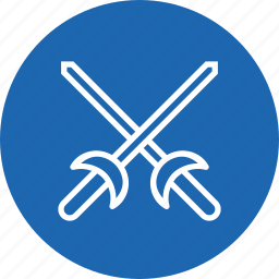 equipment, fence, fencing, game, olympics, sports, sword icon
