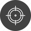 aim, airshooting, bullseye, game, olympics, rifle, shooting icon