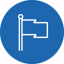 direction, flag, map, navigation, off, race icon