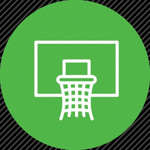 basket, basketball, game, nba, net, olympics icon