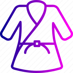 arts, fight, judo, martial, olympics, sports, uniform icon