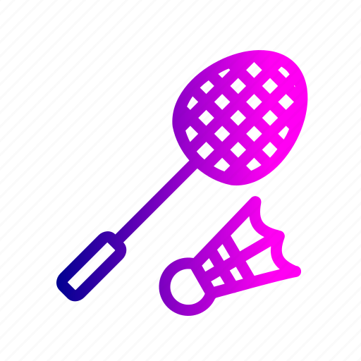 badminton, game, olympic, racket, shuttlecock, sports icon