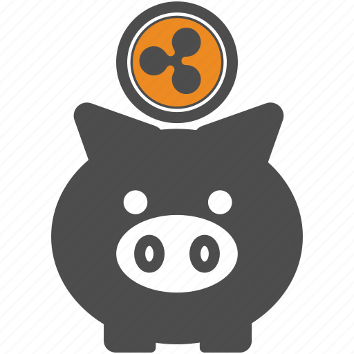 backup, blockchain, ripple, save icon