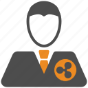 ripple, account, avatar, user icon