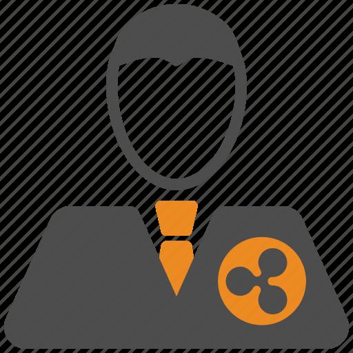 account, avatar, ripple, user icon
