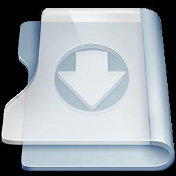 download, folder icon