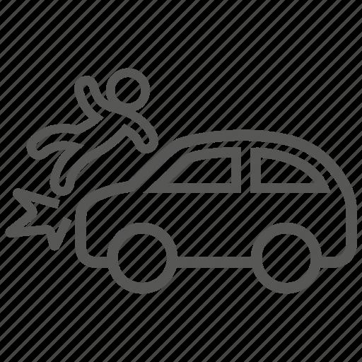 accident, car, crash, hazard, problem, risk, vehicle icon