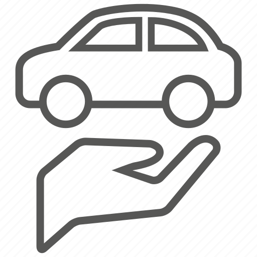 car, care, hand, transport, transportation, vehicle icon
