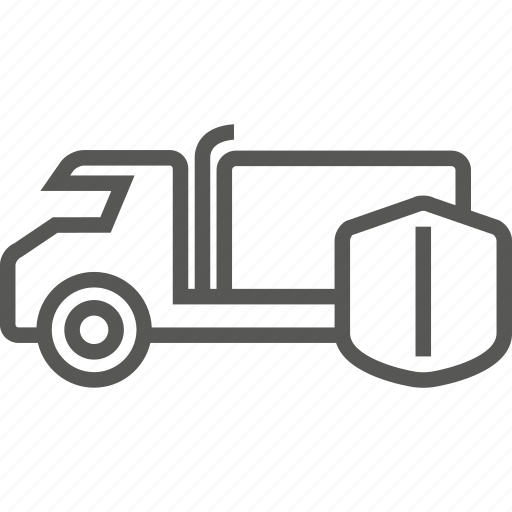 auto, car, commercial, goods, insurance, truck icon