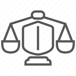 insurance, justice, law, protection, security icon