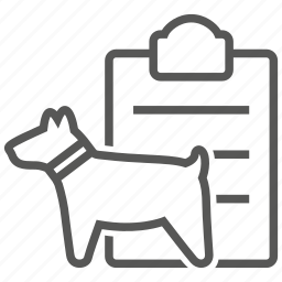 animal, dog, insurance, pet, policy icon