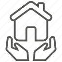 care, property, home, house icon