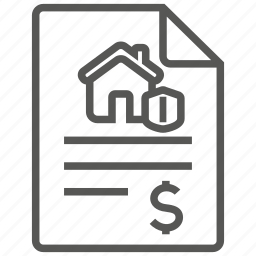 home, house, insurance, policy, property, protection, security icon