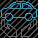 auto, car, care, service icon