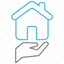 building, buy, house, property icon