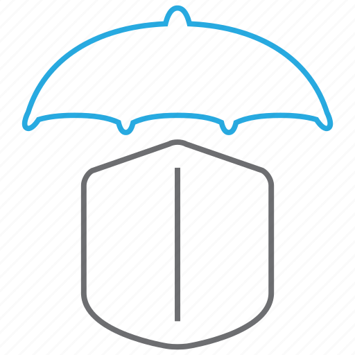 Insurance, umbrella, secure, shield icon - Download on Iconfinder