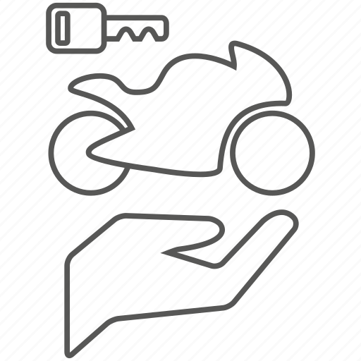 bike, biker, care, motor, owner icon