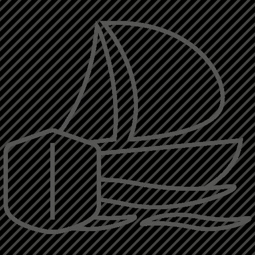 boat, insurance, sea, ship, travel, vessel, yacht icon