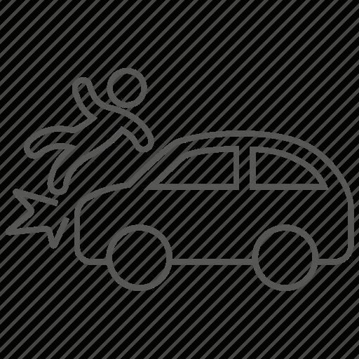 accident, car, collide, collision, crash, danger icon