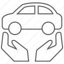 auto, car, care, transportation, vehicle icon