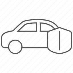 auto, car, insurance, transport, transportation, vehicle icon