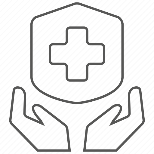 hand, health, hospital, medical, medicine, protection, security icon