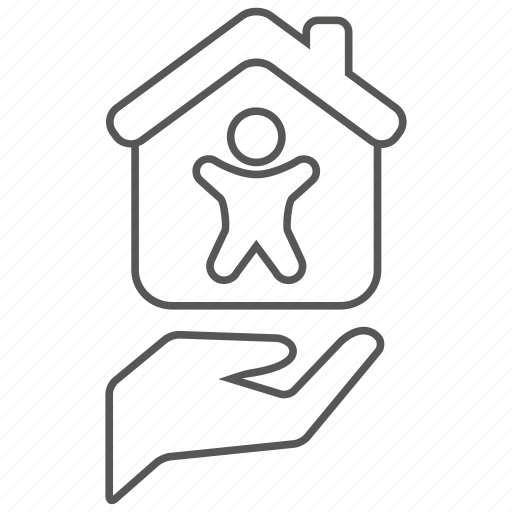 home, house, insurance, life, mortage, protection, safety icon