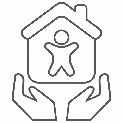 home, house, insurance, life, mortage, protection icon