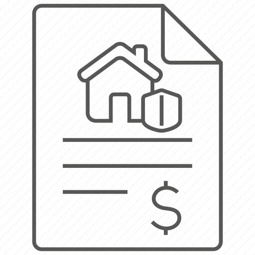 house, insurance, plan, policy, property, protection, security icon