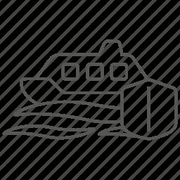 boat, insurance, sea, vessel, yacht icon